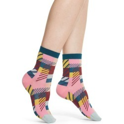 Women's Hysteria By Happy Socks Daria Ankle Socks found on MODAPINS from Nordstrom for USD $18.00