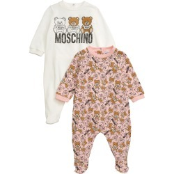 Infant Girl's Moschino 2-Pack Bear Footies found on Bargain Bro India from LinkShare USA for $280.00