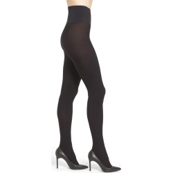 Women's Commando Eclipse Opaque 110 Denier Tights, Size Large - Black found on MODAPINS from LinkShare USA for USD $40.00