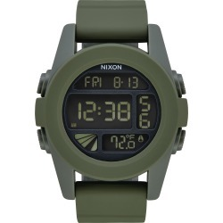 Men's Nixon Unit Digital Silicone Strap Watch, 44mm found on Bargain Bro India from Nordstrom for $125.00