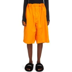 Women's Balenciaga Oversize Cotton Twill Chino Shorts, Size XX-Small - Orange found on MODAPINS from Nordstrom for USD $795.00