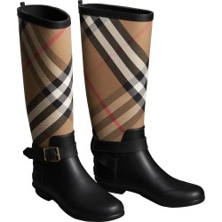 Women's Burberry Check Rain Boot found on MODAPINS from Nordstrom for USD $390.00