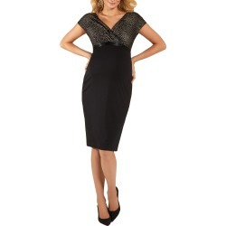Women's Tiffany Rose Maternity Cocktail Dress, Size 5 - Metallic found on Bargain Bro Philippines from LinkShare USA for $205.00