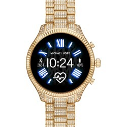 Men's Michael Michael Kors Lexington 2 Pave Crystal Bracelet Smart Watch, 44mm found on Bargain Bro India from Nordstrom for $425.00