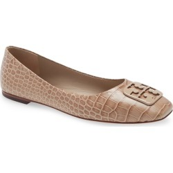 Women's Tory Burch Georgia Ballet Flat, Size 8.5 M - White found on Bargain Bro India from Nordstrom for $268.00