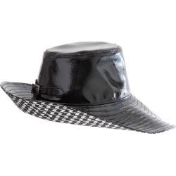 Women's Eric Javits Driptidoo Patent Bucket Rain Hat - Black found on Bargain Bro Philippines from LinkShare USA for $295.00