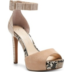 Women's Jessica Simpson Divene Sandal, Size 5.5 M - Beige found on Bargain Bro India from LinkShare USA for $97.95