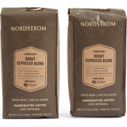Nordstrom Ethically Sourced Debut Espresso Blend 2-Pack Whole Bean Coffee found on Bargain Bro Philippines from Nordstrom for $27.90