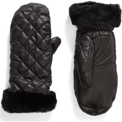 Women's UGG Quilted Performance Mittens, Size Small/Medium - Black found on Bargain Bro Philippines from LinkShare USA for $85.00
