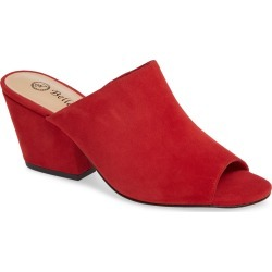 Women's Bella Vita Kathy Open Toe Mule, Size 8.5 W - Red found on Bargain Bro Philippines from LinkShare USA for $99.95