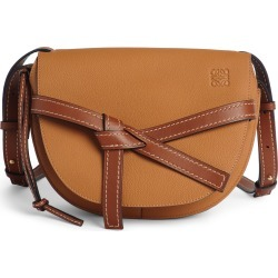 Loewe Gate Small Leather Crossbody Bag - Brown found on MODAPINS from LinkShare USA for USD $2250.00
