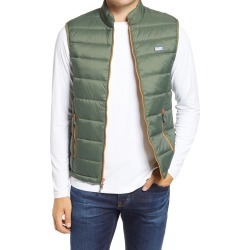 Men's Johnnie-O Hudson Classic Quilted Nylon Vest, Size X-Large - Green found on MODAPINS from Nordstrom for USD $128.00
