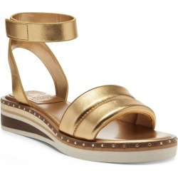 Women's Vince Camuto Mellienda Wedge Sandal, Size 9 M - Metallic found on Bargain Bro from Nordstrom for USD $83.56