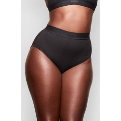 Women's Skims Cotton Rib Briefs, Size Small - Black found on MODAPINS from LinkShare USA for USD $28.00
