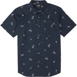 Boy's Billabong Sundays Short Sleeve Button-Down Shirt