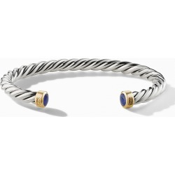 Men's David Yurman Cable Cuff Bracelet With 18K Gold & Semiprecious Stone found on Bargain Bro from Nordstrom for USD $722.00