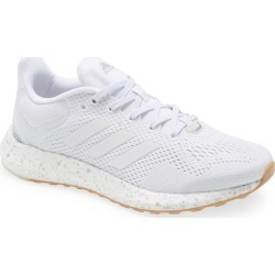 Women's Adidas Pureboost 21 Primegreen Running Shoe, Size 11.5 M - White found on Bargain Bro Philippines from Nordstrom for $84.90