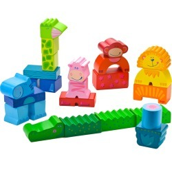 Toddler Haba Zippity Zoo Stacking Block Set found on Bargain Bro India from LinkShare USA for $39.99