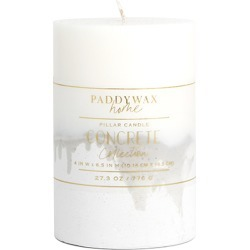 Paddywax Unscented Pillar Candle, Size One Size - Grey found on MODAPINS from Nordstrom for USD $28.00
