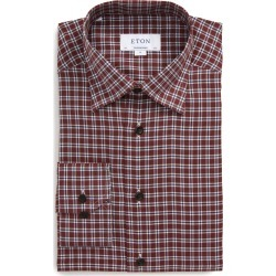 Men's Eton Contemporary Fit Plaid Dress Shirt found on MODAPINS from Nordstrom for USD $116.00