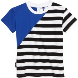 Toddler Boy's Tiny Tribe Blue Diagonal T-Shirt, Size 4T US / 4 AUS - Blue found on Bargain Bro India from Nordstrom for $26.95