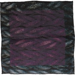 Men's Hook + Albert Sling Silk Pocket Square, Size One Size - Purple found on Bargain Bro Philippines from Nordstrom for $65.00