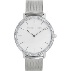 Women's Rebecca Minkoff Major Pave Mesh Strap Watch, 35mm found on Bargain Bro India from LinkShare USA for $150.00