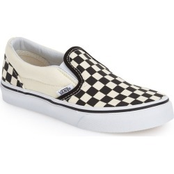 Vans Classic Checker Slip-On found on Bargain Bro India from LinkShare USA for $49.95