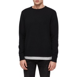 Men's Allsaints Luge Solid Long Sleeve T-Shirt found on MODAPINS from Nordstrom for USD $95.00