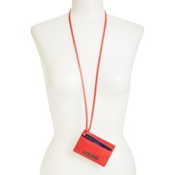 Women's Jacquemus Card Case On A Strap -