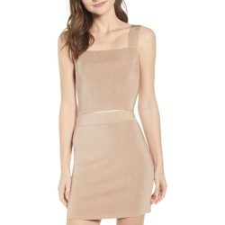 Women's Leith Wide Strap Tank, Size X-Large - Brown found on Bargain Bro India from Nordstrom for $45.00