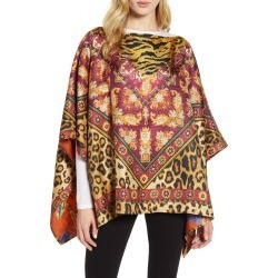 Women's Etro Leopard & Floral Reversible Silk Scarf found on MODAPINS from LinkShare USA for USD $1055.00
