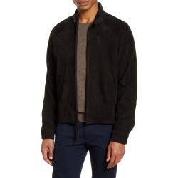 Men's Vince Harrington Suede Jacket, Size Large - Black found on Bargain Bro India from Nordstrom for $995.00