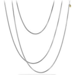 Women's David Yurman 'Chain' Medium Box Chain With Gold found on MODAPINS from Nordstrom for USD $880.00