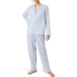 Women's The White Company Stripe Cotton Pajamas found on MODAPINS from Nordstrom for USD $109.00