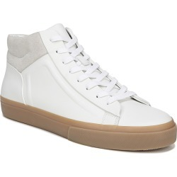 Men's Vince Fynn High Top Sneaker, Size 10.5 M - White found on Bargain Bro from Nordstrom for USD $190.00