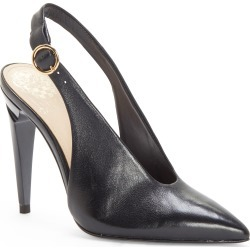 Women's Vince Camuto Jayan Slingback Pump, Size 6 M - Black found on Bargain Bro Philippines from Nordstrom for $77.37