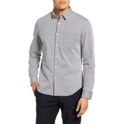 Men's Club Monaco Slim Fit Stripe Button-Down Shirt, Size X-Small - Blue found on Bargain Bro Philippines from LinkShare USA for $44.81