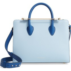 Strathberry Tricolor Midi Leather Tote - Blue found on Bargain Bro India from LinkShare USA for $616.00