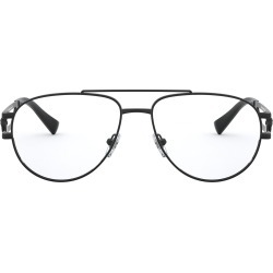 Men's Versace 57mm Aviator Optical Glasses - Matte Black found on MODAPINS from Nordstrom for USD $331.00
