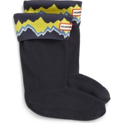 Toddler Girl's Hunter Storm Stripe Cuffed Boot Socks, Size XS (5-7) - Blue found on Bargain Bro Philippines from Nordstrom for $30.00