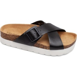 Women's Lisa Vicky Benefit Slide Sandal, Size 11 M - Black found on MODAPINS from Nordstrom for USD $79.95