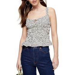 Women's Topshop Heart Print Cami found on MODAPINS from LinkShare USA for USD $28.00