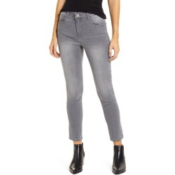 Women's Wit & Wisdom Ab-Solution High Waist Skinny Ankle Jeans, Size 6 - Grey (Grey Artisanal) (Nordstrom Exclusive) found on Bargain Bro from Nordstrom for USD $37.99