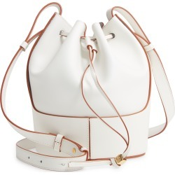 Loewe Small Balloon Leather Bucket Bag - White found on MODAPINS from LinkShare USA for USD $2500.00