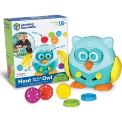 Learning Resources Hoot The Fine Motor Owl Learning Toy