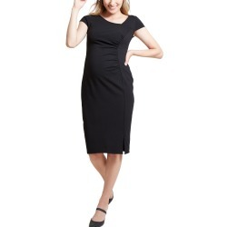 Women's Ingrid & Isabel Asymmetrical Neck Maternity Dress found on MODAPINS from LinkShare USA for USD $79.99