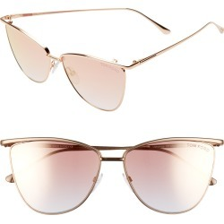 Women's Tom Ford Veronica 58Mm Gradient Mirrored Cat Eye Sunglasses - Gold/ Gradient Peach found on Bargain Bro Philippines from Nordstrom for $460.00