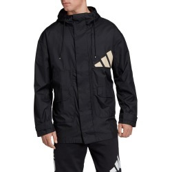 Men's Adidas Hooded Ripstop Jacket, Size Large - Black found on MODAPINS from Nordstrom for USD $47.97