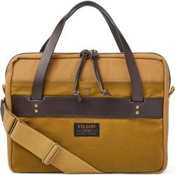 Men's Filson Rugged Twill Compact Briefcase - Brown found on Bargain Bro from Nordstrom for USD $266.00